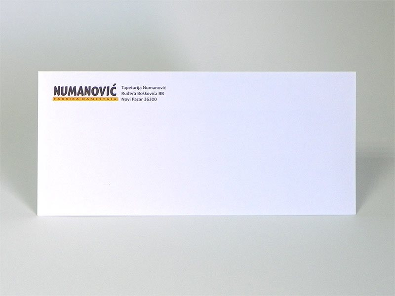 ameriken koverti - Numanović