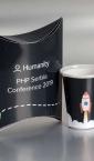 pillow-box M4 + papirne čaše / Humanity PHP Serbia