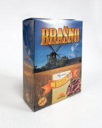 """Kutija za specijalna brašna """"Uvita"""", Debeljača (prednja strana)"""