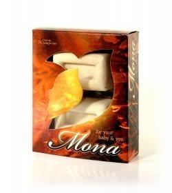 Kutija za sapun mona / linum čonoplja
