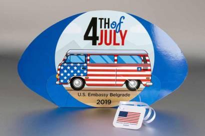 Reklamne lepeze / Ambasada USA, 2019 (3)