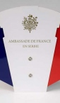 Sklopiva lepeza / Francuska (ambasada u Srbiji)