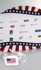 Ambasada USA / promo lepeza (sa sponzorima) - za proslavu nacionalnog praznika) 1
