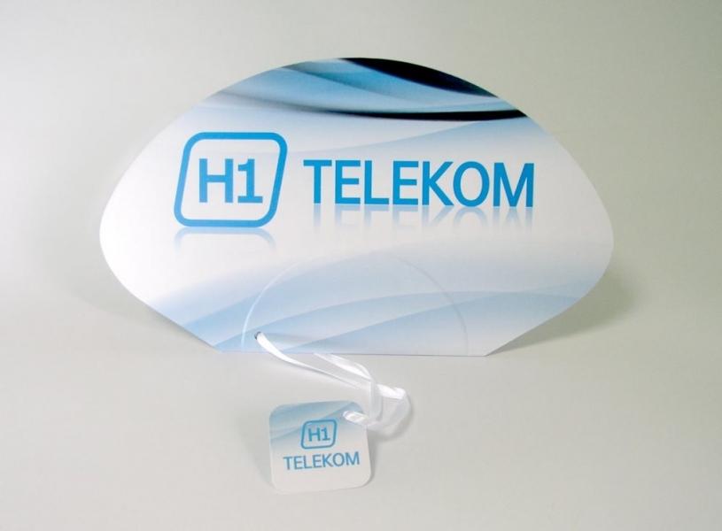 """Reklamna lepeza """"H1 TELEKOM"""" Hrvatska"""
