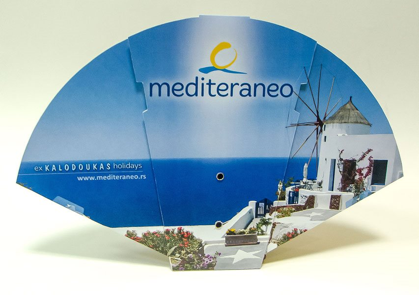 Sklopiva lepeza (prototip), Mediteraneo