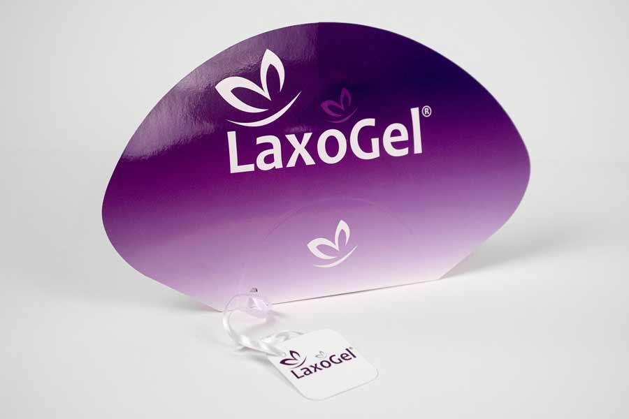 Reklamne lepeze / Laxogel