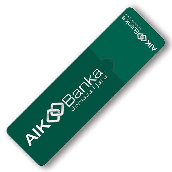 "Magnetni bookmark, ""Aik Banka"""