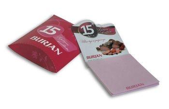 Magnetni set (blok+pillow-box), Burjan