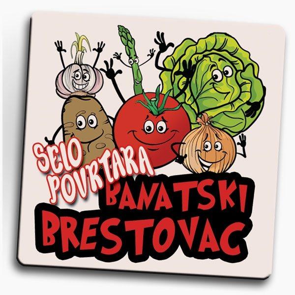 magnet, Brestovac - selo povrtara