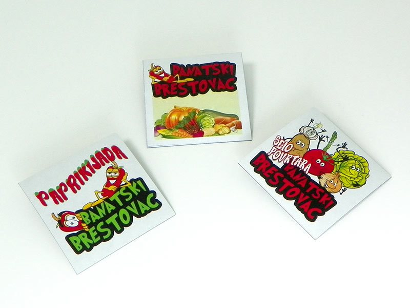 """Magnetni stikeri """"Paprikijada"""" Banatski Brestovac"""