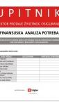 finansijska analiza potreba / obrasci