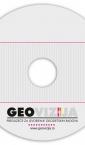 nalepnica / samolepljiva etiketa za CD/DVD / geovizija