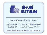 nalepnica / samolepljiva etiketa / BM-Ritam