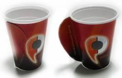 """papirne čaše (navlake) za """"Prime Communication"""" / Bosna i Hercegovina"""