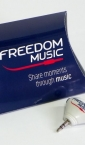 pillow bow - freedom-music