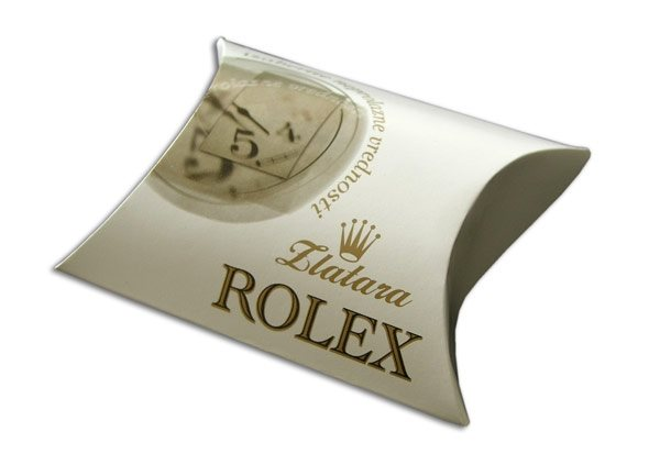 pillow box rolex