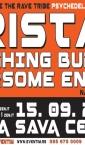 "Plakat ""Tristan & Laughing Budha"" (Bašta Sava Centra)"