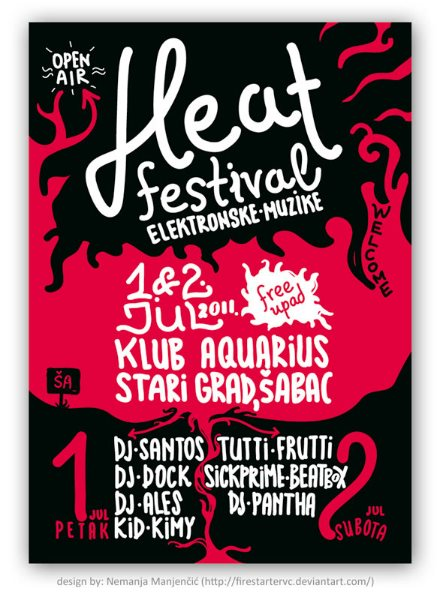 Plakat Heath festival