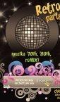 plakat Retro Party