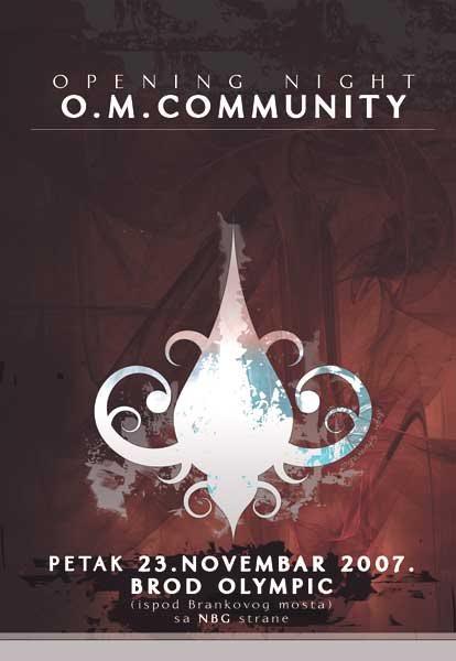 plakat om community