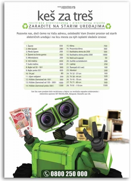 plakat set reciklaza