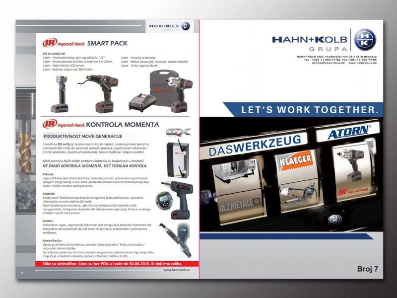 brošura / prospekt Hahn+Kolb
