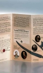 "Flajer A4 ""Pančevo u revoluciji 1848-1849.""(prospekt, duofold, unutra) / Narodni muzej Pančevo"