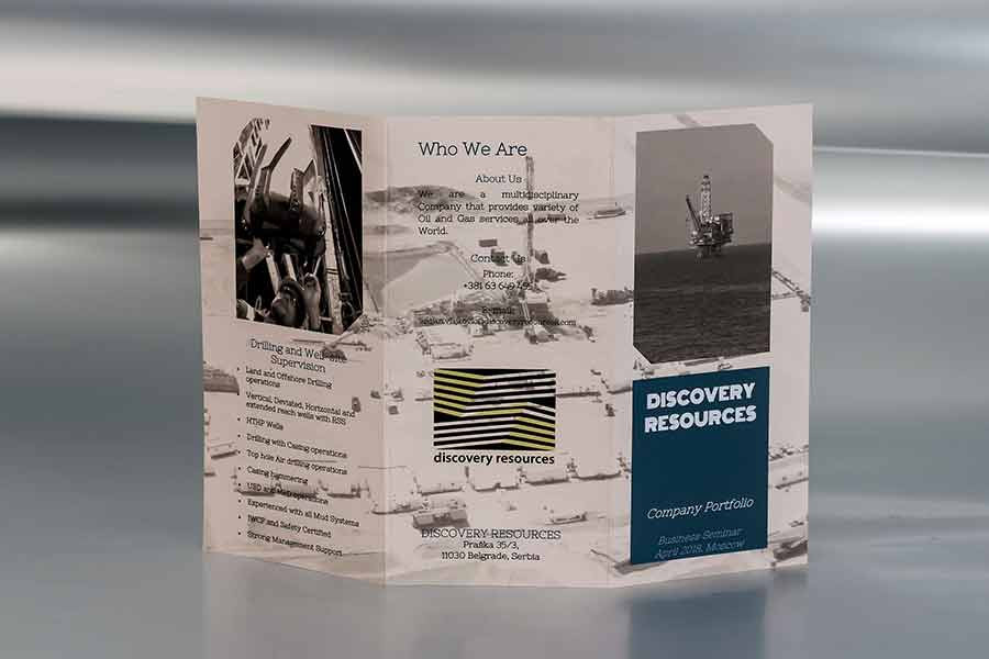 Flajer A4 (spolja)/ Discovery Resources (Australia)