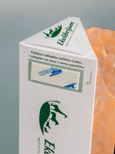 Kesa je zakon - samolepljivi dispenser za eko-kese
