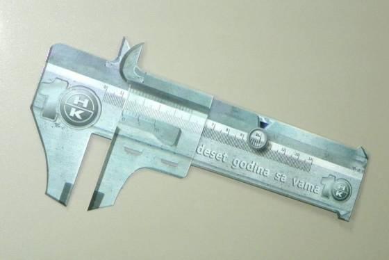 """Magnetni (kartonski) šubler """"Hahn+Kolb"""""""