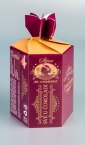 """Sljiva - šestougaona kutija za čokoladirano voće """"Filgold"""", Crna Gora"""
