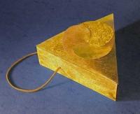 trouglasta kutija - velika / kutija za nakit originalnog oblika
