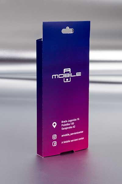 """Mobile """"A"""" / kutije za maske (za telefon, poleđina)"""