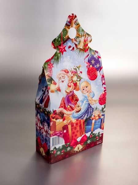 """Berezka West (ruska čokolada) - poklon paketići (kutija """"jelkica"""", 350gr)"""