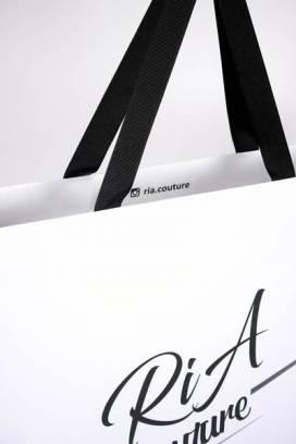 Specijalna kesa sa ručkama od ripsa (detalj) / Ria Couture (Ana Cakić)