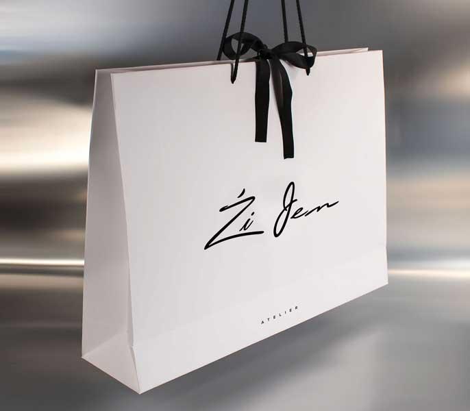 Reklamne luksuzna kesa, model XL / Zi Jen