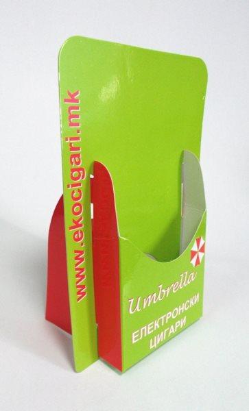 """Kaširani stalci za flajere """"Umbrela"""" (Makedonija)"""