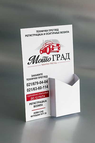"Stalak za flajere ""Motograd"""