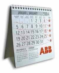 stoni kalendar abb - spiralni povez