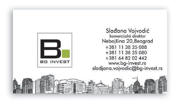 vizit karte Bg invest