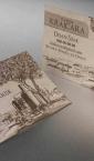 """Luksuzne vizit karte na specijalnom papiru """"Podrum Krajcara"""""""