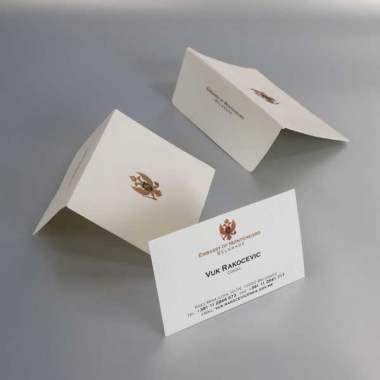 vizit karte / konzul Crne Gore