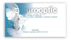 vizit karte / standardne / eurooptic