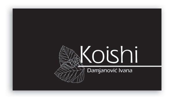 vizit karta koishi