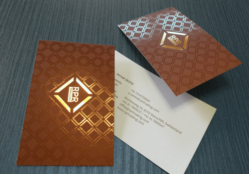 rpr-trading business cards