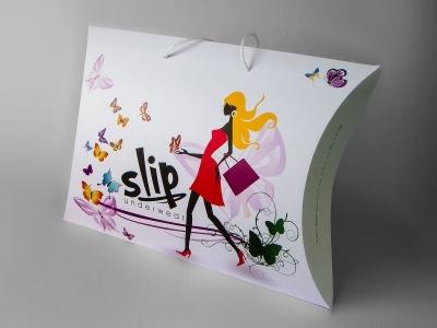 """XL pillow box """"Slip underwear"""""""