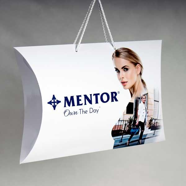 XL Pillow box, model XL1 sa ručkama od kanapa / Mentor