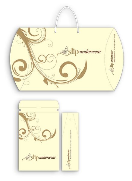 pillow box slip underware - preview