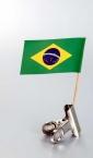 zastavica na čačkalici - brazil