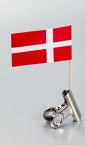 papirna zastavica na čačkalici -danska